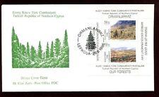 Turkish Cypriot Posts 1996 World Enviroment Day M/S FDC #C8334