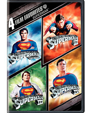 Superman: Complete Christopher Reeve Movie Series 1 2 3 4 Box / DVD Set NEW!