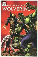 Return of Wolverine #1 Suayan TRADE Cover A Variant GEMINI SHIPPING