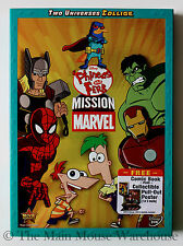 Disney Channel Phineas and Ferb Mission Marvel Full Adventure & 8 Bonus Episodes