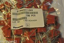 1.1nF 2kV 3% ECWH20112HV Panasonic Metallized Polypropylene Film C [QTY=100 PCS]
