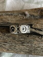 Size 6 Wax Cast Sterling Silver Ring