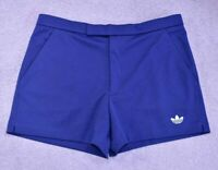 """ADIDAS VINTAGE TENNIS SHORTS OLDSCHOOL THE BUSINESS 70s 80s CASUALS size 33"""" S/M"""