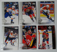 1996-97 Upper Deck UD Series 2 Florida Panthers Team Set of 6 Hockey Cards
