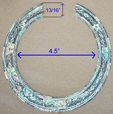 RS12# Rosette Inlay Paua Abalone & White Mother of Pearl 1.5mm thickness