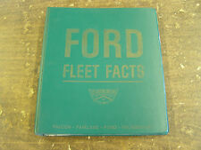 Original 1964 Ford Dealer Facts Book Fairlane Galaxie Falcon Thunderbird Econo