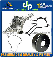 MERCEDES BENZ W202 W203 W210 W211 1122001501 Water Pump + Pulley + Gasket SET 3