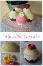 PATTERN - My Little Cupcake  -  fabulous felt pincushions PATTERN