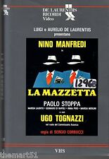 La Mazzetta (1978)   VHS Ricordi Video 1a Ed.  Ugo Tognazzi Nino  Manfredi