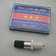 1pc HQ Roland Blade Holder + 5Pcs 45°  Roland Blade Vinyl Cutter Cutting Plotter