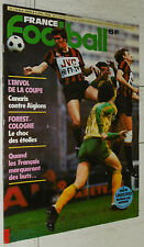 FRANCE FOOTBALL 1722 10/04 1979 CSSR-FRANCE 2-0 FC NANTES PAILLADE MONTPELLIER