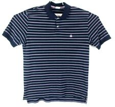brooks brothers size large mens striped polo shirt 100% cotton