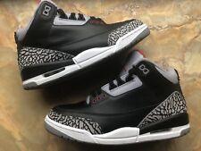 2008 Nike Air Jordan 3 Retro CDP Black Cement Grey Size 8 (4333) 340254-061