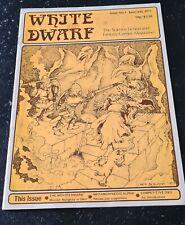 White Dwarf n. 1 June/July 1977 original