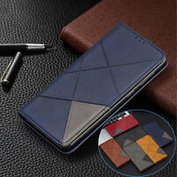 Magnetic Flip Leather Wallet Stand Case Cover For Samsung A10e A20 A30 A50 A70