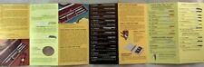 1971 Vintage Knife Catalog Brochure Gerber Legendary Blades