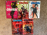 Grayson VOL 1 2 3-5 Comic TPB Omnibus Lot Complete GRAPHIC Novel Batman New 52