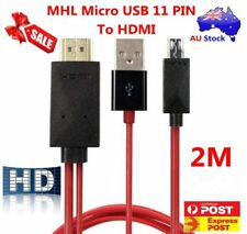 MHL Micro USB 11Pin to HDMI Adapter Cable For Samsung Galaxy S4 S5 S3 Note 2/3/4