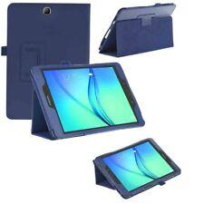 CUSTODIA COVER Integrale SMART SUPPORTO per Samsung Galaxy Tab A 9.7 T550 Blu