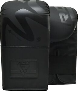RDX Bag Gloves Punching Boxing Training Muay Thai Mitts Kickboxing MMA Sparring