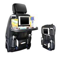 Hot Car Seat Back Bag Organizer Multi-Pocket Storage iPad Phone Holder Leather