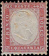 REGNO 40 C. ROSSO CARMINIO, N. 3, NUOVO MLH, BUONA CENTR NC, OSSID.  RIF 241-107