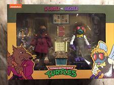 SPLINTER vs. BAXTER 2 Pack Target NECA Teenage Mutant Ninja Turtles TMNT