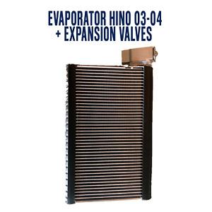 KIT A/C Evaporator + Expansion Valve Hino 03-04/ ISUZU NPR NQR (RHD) 2007-2016