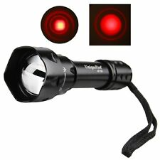 Uniquefire UF-T20 Infrared LED IR 850nm Night Vision Flashlight Torch Red Light
