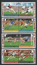 Guernesey 1995 Européenne Football Championnat non Montés Neuf MNH