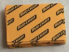 16 Bud Light Anheuser Busch Beer Sponges - missing package / never used.