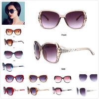 Mujer Diseñador Gafas de Sol Grande Conducción Gafas UV400 Gb