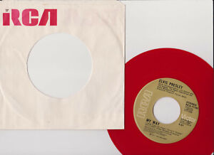 ELVIS PRESLEY-MY WAY-RED WAX-SPECIAL LIMTED EDITION-Made in Canada-RCA-EX/VG+