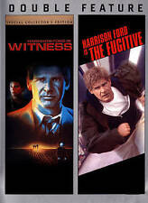 Witness / The Fugitive  (DVD, 2013, Double Feature) NEW! FREE SHPPING!