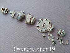 1 Set Cast Brass Tachi Koshirae Fittings for Japanese Katana Wakizashi Sword