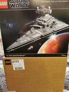 lego star wars imperial star destroyer 75252 ucs brand new
