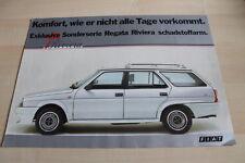 121655) Fiat Regata Weekend Riviera - Übergröße - Prospekt 05/1986