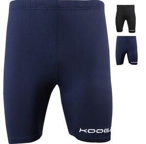 Kooga Marine Foncé Bleu ou Noir Cycle Cyclisme Performance Couche de Base Short