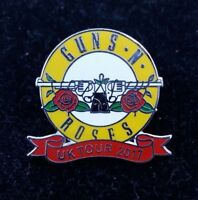 GUNS N ROSES UK 2017 CONCERT PIN NOT IN THIS LIFETIME TOUR.... SLASH AXL ROSE