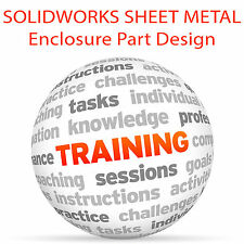 SolidWorks involucro in lamiera parte Design-Video formazione tutorial DVD