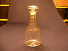 RARE Vtg Duncan & Miller No.30 Pall Mall Decanter In First Love Pattern