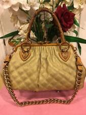 Marc by Marc Jacobs Quilted Stam PYTHON STRAW SHOULDER BAG PURESE (500