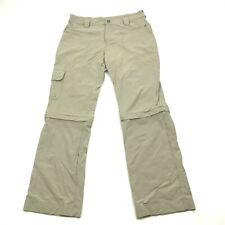Cabelas UPF 50+ Convertible Pants Womens Size 10 Quick Dry HYBRID 2-in-1 Cropped