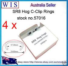 10 000 C7 HOG RING C CLIPS SR8 Pliers Fencing Fence Ring Gun,Galvanizd-57016