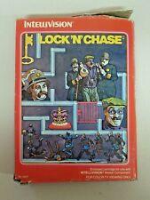 Vintage Intellivision LOCK 'N' CHASE Game in Box 1982