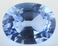 UNUSUAL 14x11mm OVAL-FACET SKY-BLUE NATURAL AFRICAN TOPAZ GEMSTONE