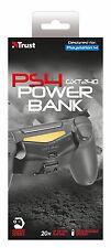 Brand NEW TRUST 20568 GXT 240 POWERBANK per PS4 Controller, 2 ANNI DI GARANZIA