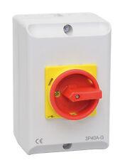 Hauptschalter 10a 3-polig Im Gehäuse Reparaturschalter Js3p10a-g