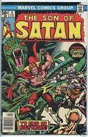 Son of Satan 1975 series # 8 very good comic book