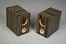 Speaker box for Fostex FE126E pair, ebony, Bass Reflex Type